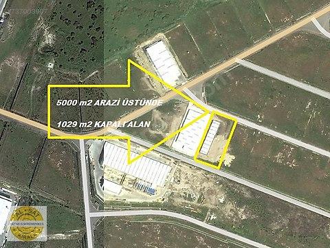 Bülent ATEŞCİ'den Aliağa Alosbide 1029 m2 Kapalı...