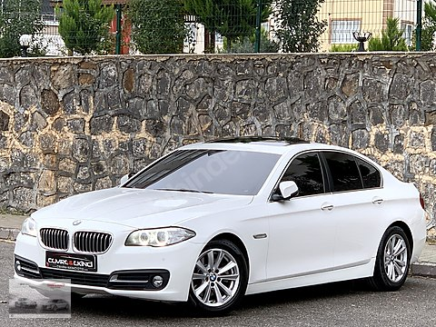 2014 BOYASIZ BMW 520i PREMİUM HAYALET HAFIZA PERDE...
