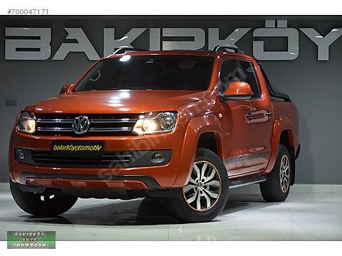 BAKIRKÖY'DEN 2016 VW AMAROK 2.0 BİTDİ CANYON 4X4...