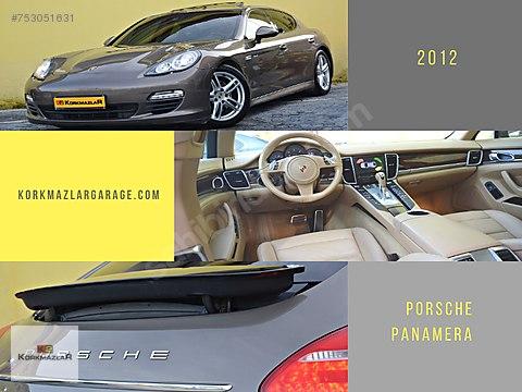 KORKMAZLAR 2012 BOYASIZ Porsche Panamera Diesel...