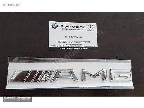 Mercedes C180 C200 W220 W221 AMG yazısı - etiketi 1.Kalite #220062151
