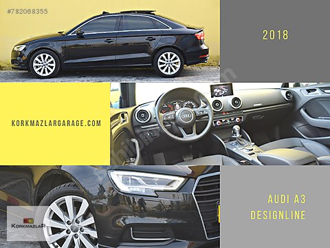 KORKMAZLAR 2018 BOYASZ AUDI A3 Design P.CAM+LED...