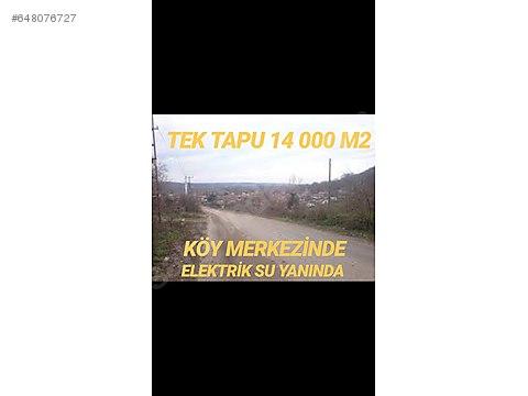 TEK TAPU 14 DÖNÜM !! köy içi KOMİSYON YOK!!! ...