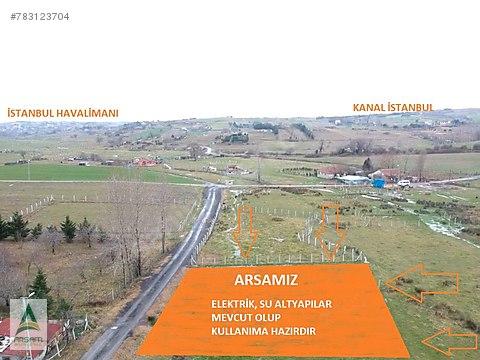 İSTANBUL HAVALİMANI YANI BAŞI 155 M2 ARSA