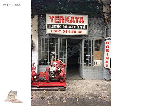 Eski sanayide satılık dükkan