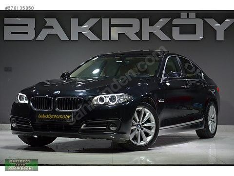 BAKIRKÖY'DEN 2016 BORUSAN BMW 520İ EXECUTİVE B.EKRN.HYLT.VKM.BGJ