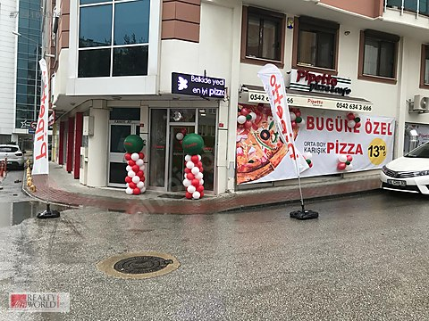 RW ECE'den Bursa FSM'de Pizza Restaurant & Cafe