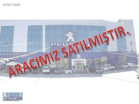 PEUGEOT DENİZ 2.EL YETKİLİ BAYİDEN SIFIR AYARINDA...