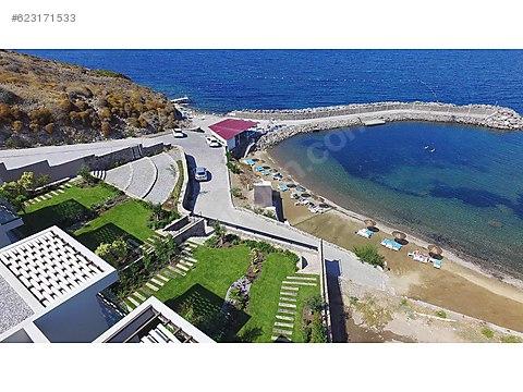 Gündoğan Koyunda Çok Özel Plajlı Satlık Villa
