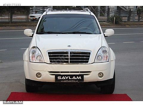 SAYLAM 2011 REXTON 2.7 XDİ-4X4-SUNROOF-DERİ-4 KOLTUK...
