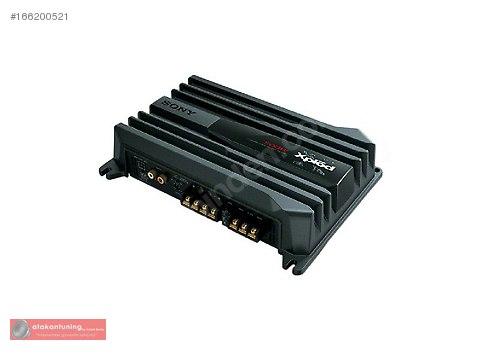 Sony XM-N 502 2 Kanallı 500 Watt Mono-Stereo Oto Amfi #166200521