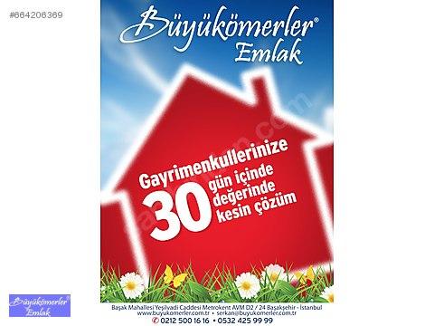 BÜYÜKÖMERLER'DEN SEYRAN ŞEHİRDE 4+1 GÜNEY TAPULU...