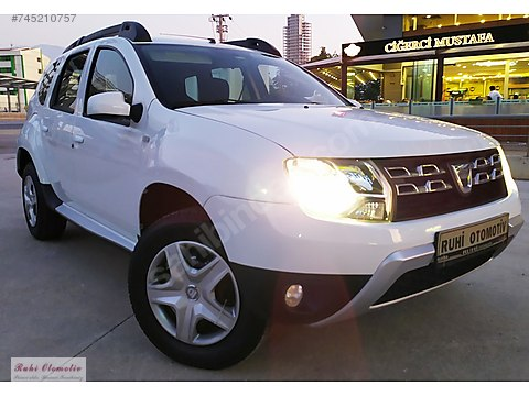 2016 MODEL DACİA DUSTER 1.5 DCI 4x4 AMBİANCE 110...