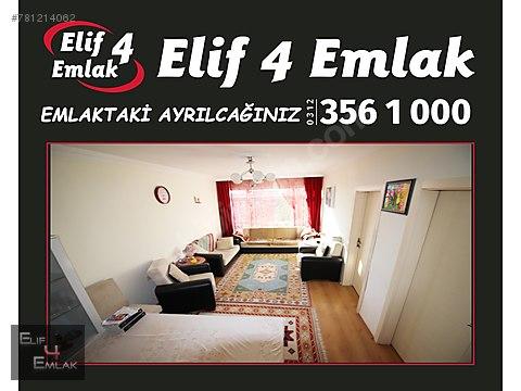 ELİF 4 EMLAK'TAN SANATORYUM CADDESİNDE FULL YAPILI...