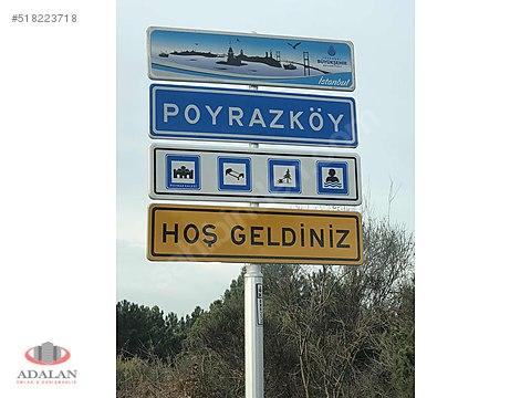 BEYKOZ POYRAZKÖY'DE 1730m2 SATILIK ARSA...