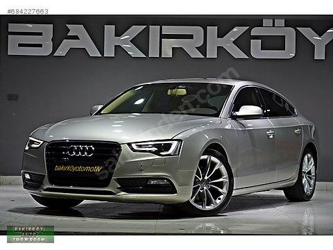 BAKIRKÖY'DEN 2015 AUDİ A5 SPORTBACK 2.0 TDI 190HP...