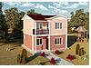 prefabrik çiftkatlı ev hızlı çözümler. #188244218