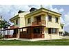 Saros körfezinde denize sıfır havuzlu sitede yeni tripleks villa #142263113