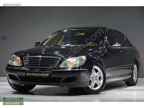 BAKIRKÖY'DEN 2005 MERCEDES-BENZ S350 TAM DOLU EMSALSİZ...