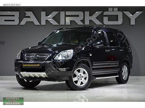 BAKIRKÖY'DEN 2004 HONDA CR-V 2.0İ ES OTOMATİK+SUNROOF+KAMERA+NAV