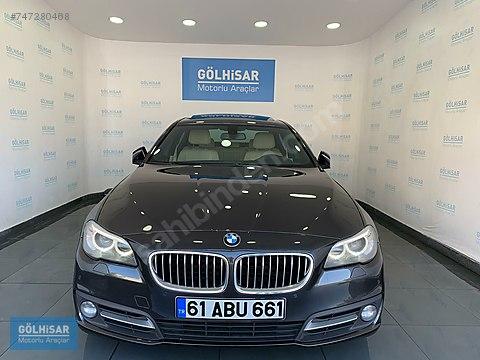 GÖLHİSAR OTO'da 2016 BMW 520i EXECUTİVE NBT/H.Y.G/VAK/GGK...
