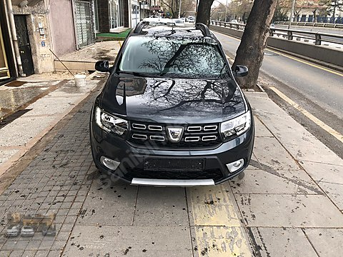 2018 SANDERO STEPWAY 1.5DCİ OTOMATİK TAMAMINA KREDİ...
