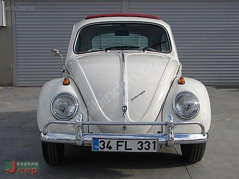BAŞKAN JEEP'DEN TÜRKİYE'DE 1 İLK 1963 CLASSİC Volkswagen...