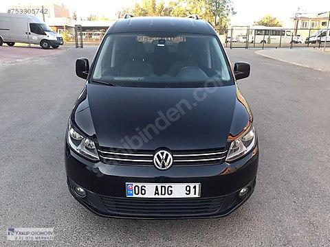 2014 VW CADDY 2.0 TDİ SPORTLİNE OTOMOTİK DSG BOYASIZ...