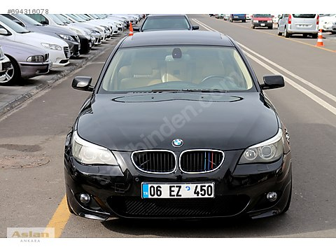 BOYASIZ_2006 BMW 520 D PREMİUM_M PAKET_SİYAH İÇİ...
