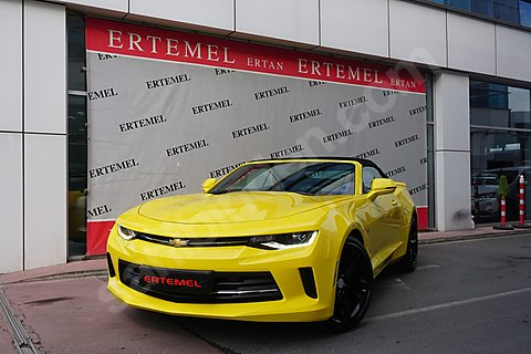 ERTEMEL'DEN-2017 CAMARO RS CABRİO-50.YIL SERİ-SOĞUTMA-BOSE-FULL-