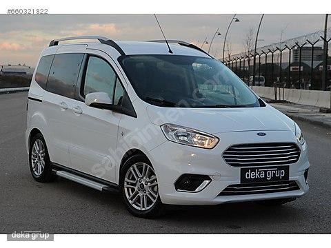 2018 Ford Tourneo Courier 1.5 Titanium -Yeni Kasa...