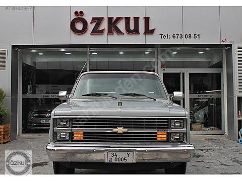 1984 CHEVROLET SİLVERADO 4.1 V6 ORJİNAL 30.000KM'DE...
