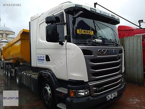 Evona Lojistikten Satılık temiz Scania Roterdar