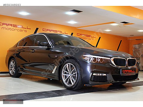 CARSELL BORUSAN ÇIK. 2017 BMW 520 D EXECUTIVE M...