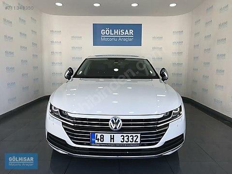 GÖLHİSAR'dan 2017 VW ARTEON 2.0 TDİ BOYASIZ HAYALET...