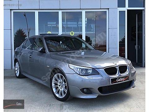 GALLERY'DEN 2005 BMW 5.20İ 129.000 KM'DE -HATASIZ