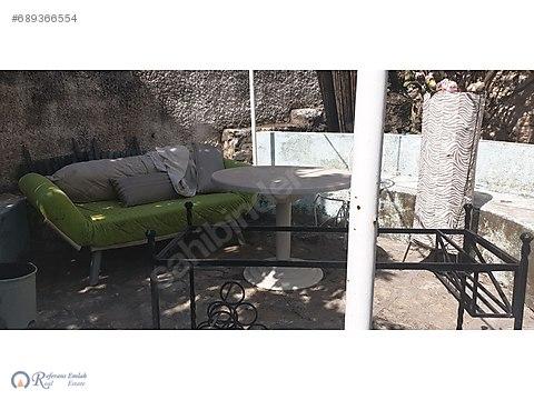KUMBAHCE DE bahçe KATI EŞYALI daire