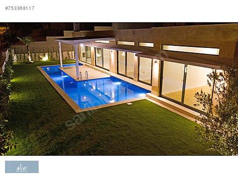 Tam müstakil,tek kat, özel havuzlu, sıfır villa