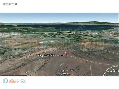 Manyas'ta 500 Dönüm Tek Tapu Satılık Yatırımlık Arazi. #129377681