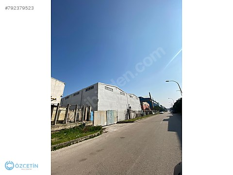 ÖZÇETİN'DEN NOSAB'DA KİRALIK 3300 m² TEK KAT FABRİKA