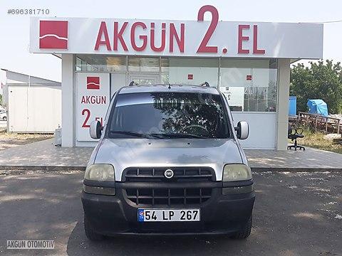 AKGÜN İKİNCİEL'DEN 2005 1.2 DOBLO MASRAFSİZ BOYASIZ