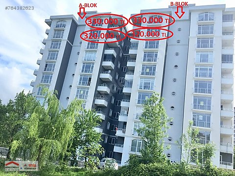 GARDENİA-2 SİTESİ 11.KAT 135m2 3+1 ODALI 330.000...