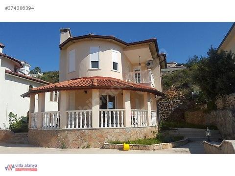 Alanya-Kargıcak müstakil Villa yüzme havuzlu full...