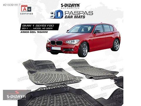 BMW 1 Serisi F20 3D Havuzlu Paspas 2011 ve Üzeri #219391617