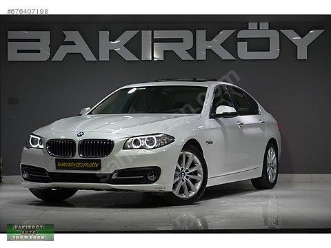 BAKIRKÖY'DEN 2016 BMW 520İ EXECUTİVE BORUSAN BOYASIZ