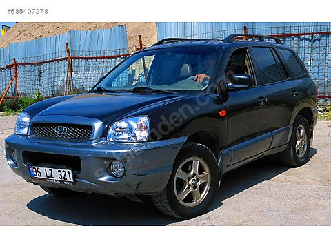 2005-SANTA FE-2.0CRDI-OTOMATİK-SUNROOF-KOLTUK ISITMA