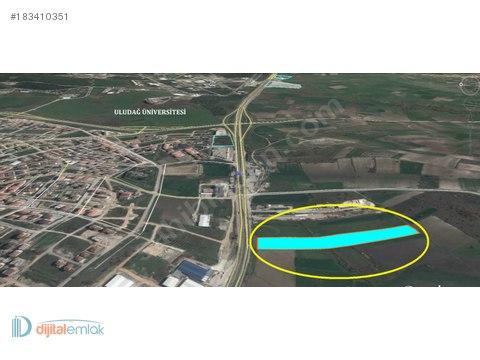 Görükle Merada İzmir yoluna Cephe Satılık 20 Dönüm Arazi. #183410351