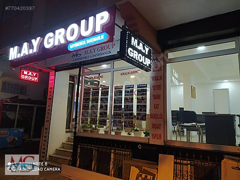 ** M.A.Y GROUP'DAN 3.000 KİRACILI YENI BİNADA SATILIK...