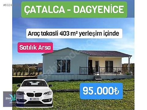 ÇATALCA DAGYENİCEDE KALAN SON PARSEL BU FIRSATI...