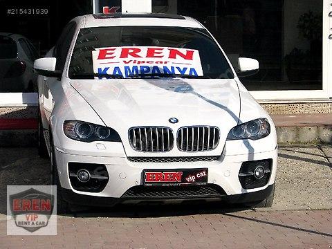 EREN RENT A CAR'dan 2010 Model BMW X6 3.5D Günlük 400TL #215431939